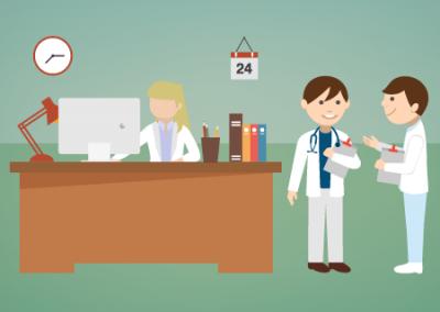 Auxiliar administrativo de sanidad
