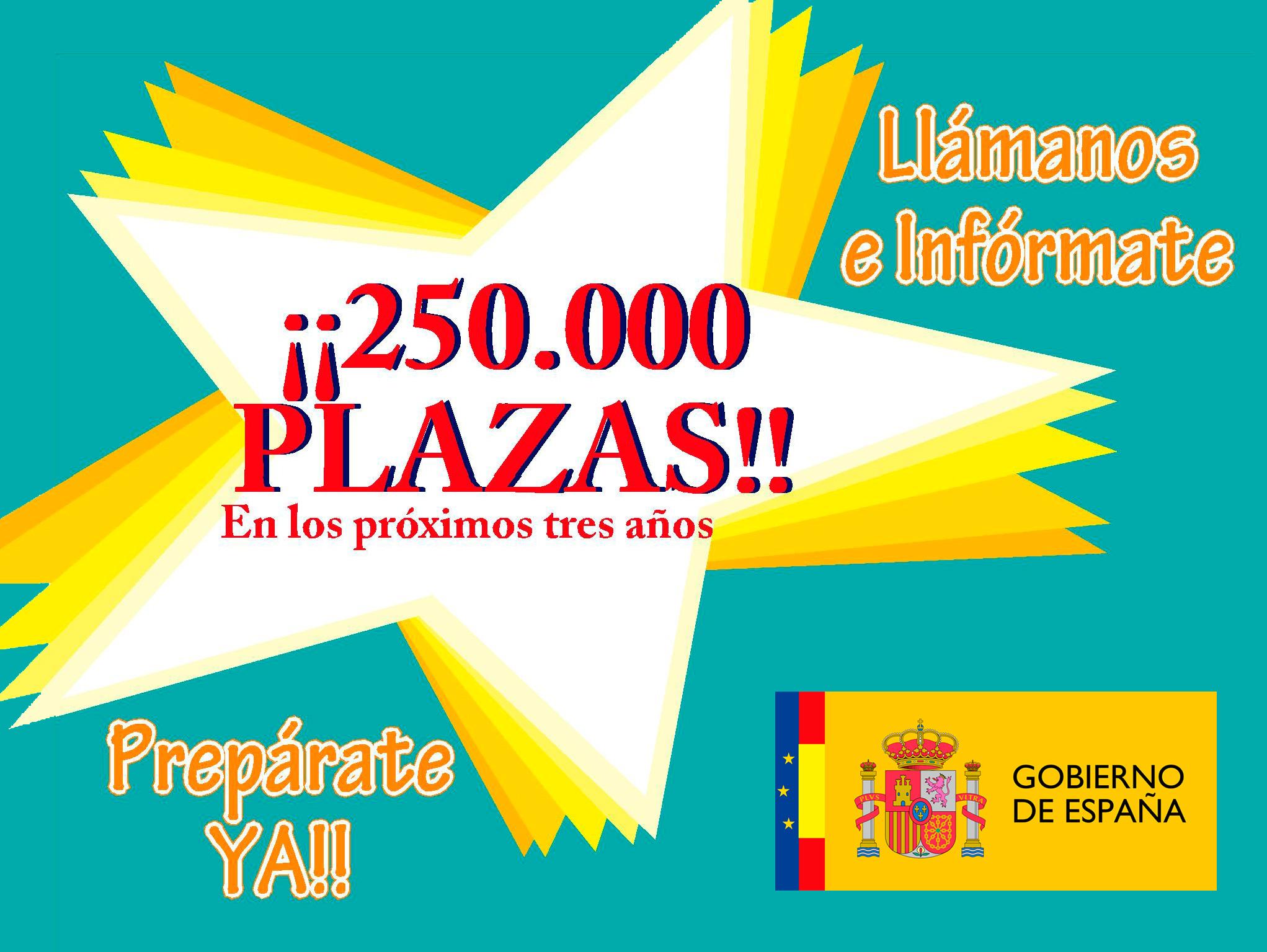 250.000 Plazas de Trabajo