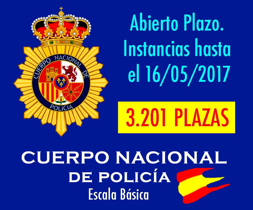 Convocatoria Policia Nacional 2017