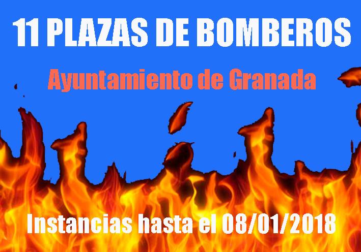 Convocatoria  Bomberos Granada