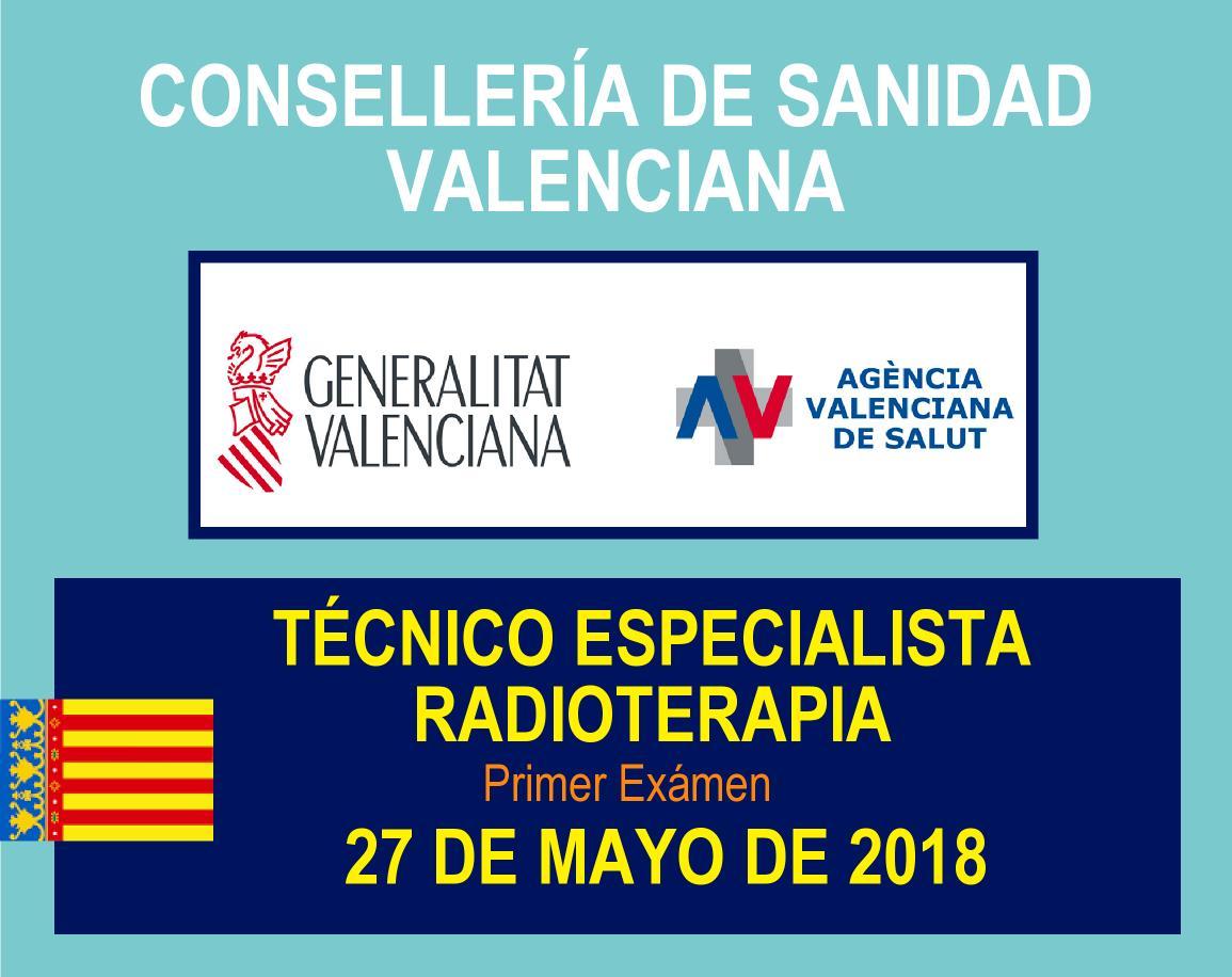 Exámen Técnico Especialista Radioterapia Valencia