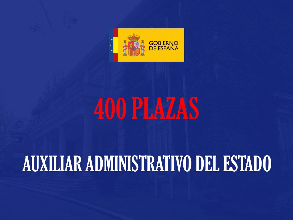 Auxiliar administrativo del Estado