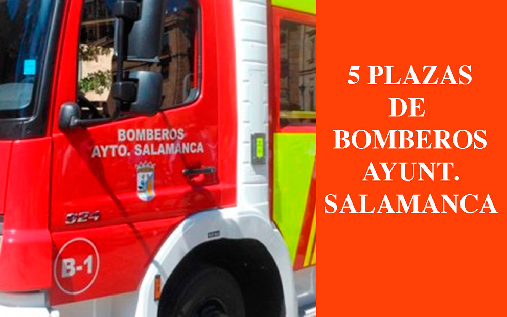 Bomberos Salamanca