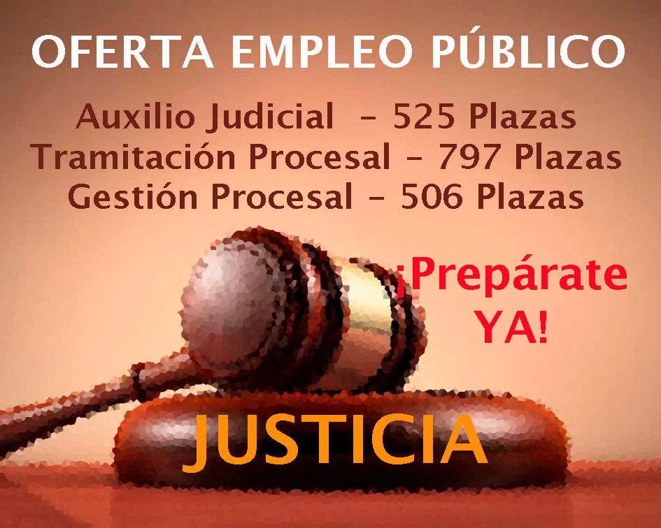 Oferta Empleo Público Justicia
