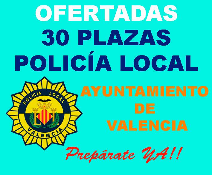 Policía Local Ayuntamiento de Valencia