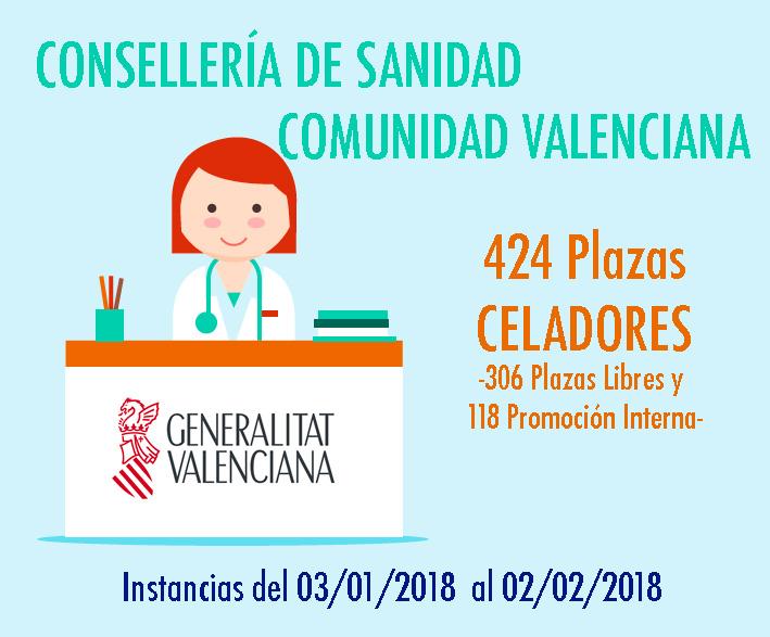 Convocatoria Celadores Sanidad Valencia