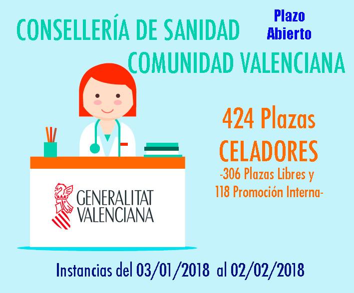 Convocatoria Celadores Valencia