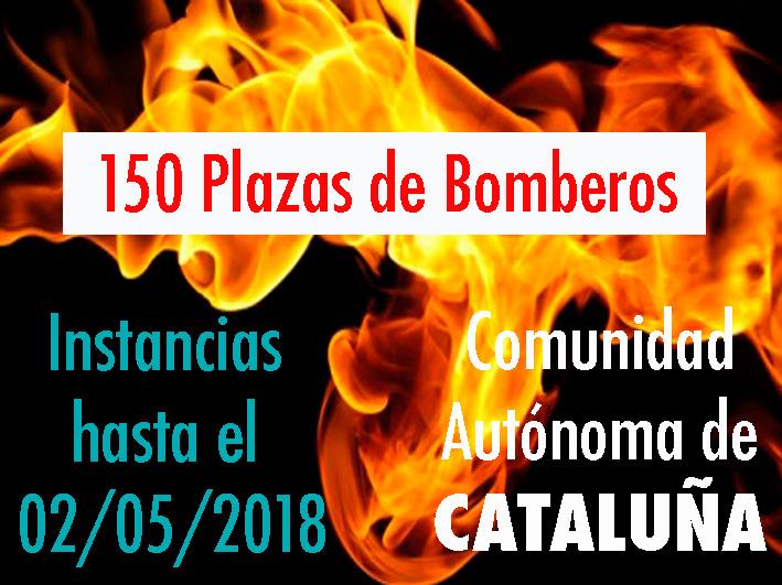 Convocatoria Bomberos Cataluña