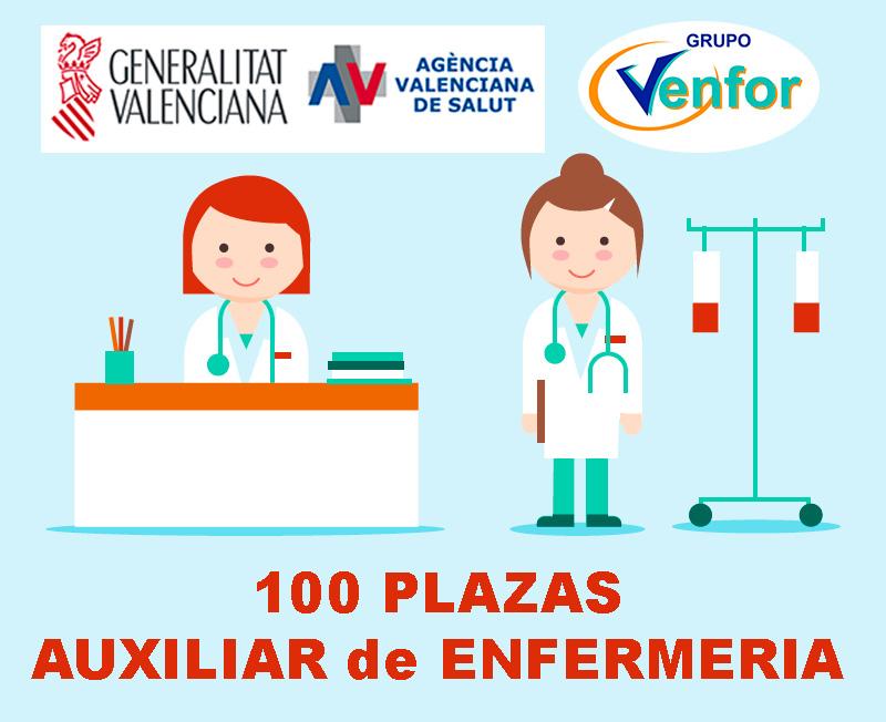 Oferta Püblica Conselleria de Sanidad Valenciana Aux Enfermería