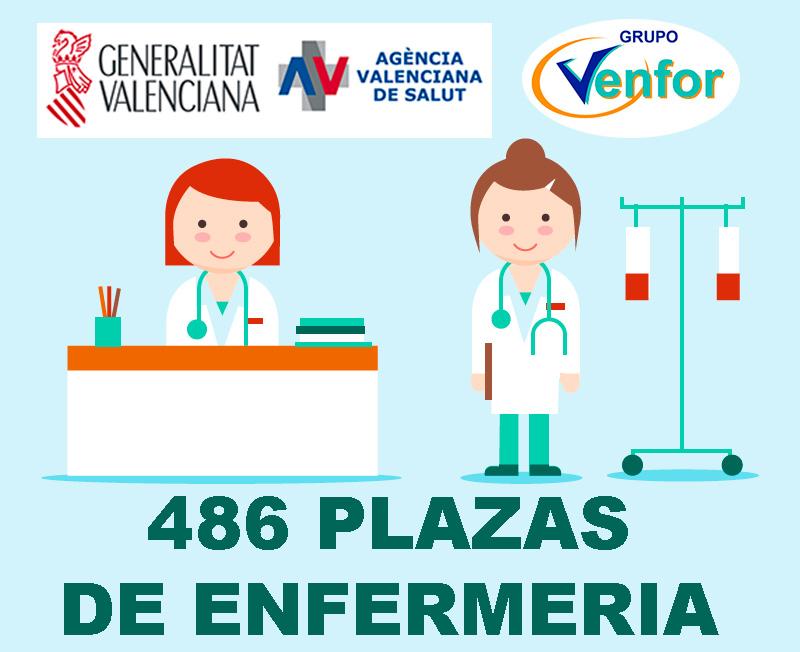 Oferta Püblica Conselleria de Sanidad Valenciana Enfermería