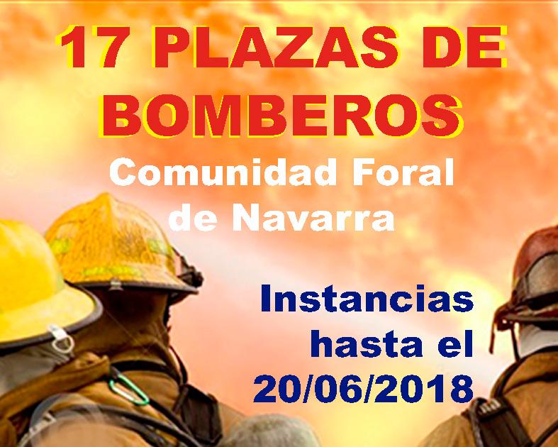 Convocatoria Bomberos Comunidad Foral Navarra
