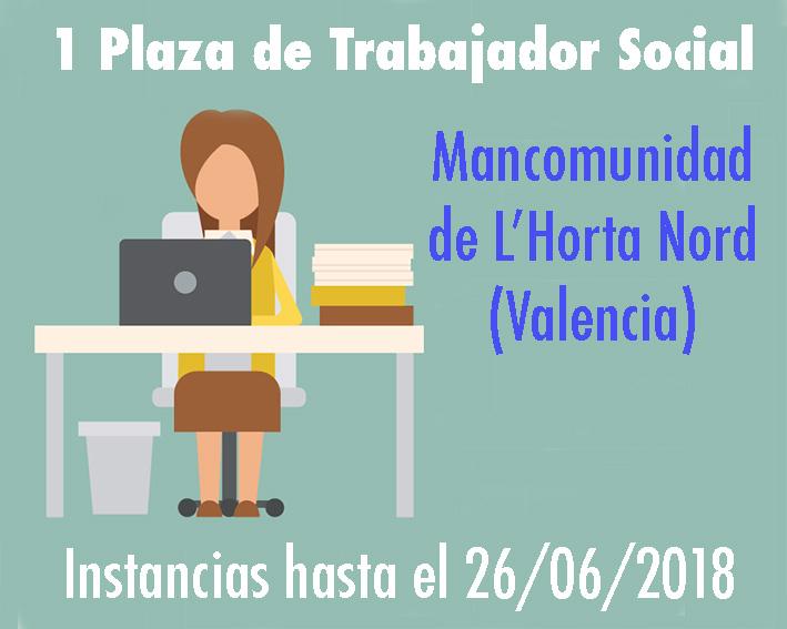 Convocatoria Trabajador Social L'Horta Nord