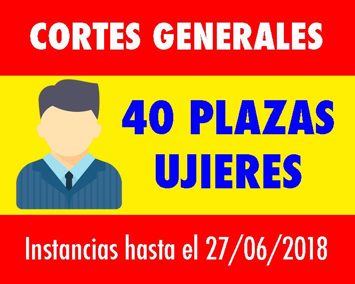 Convocatoria Ujieres Cortes Generales