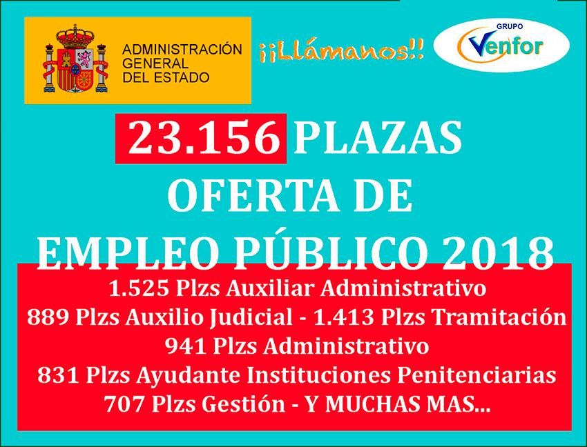 Oferta Empleo Publico 2018