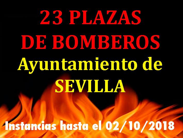 Convocatoria Bomberos Sevilla