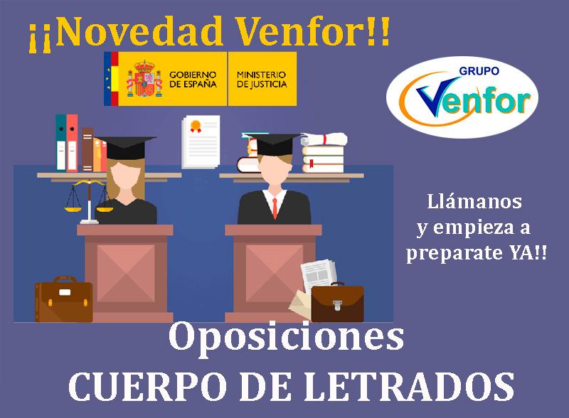 Oposiciones Cuerpo de Letrados