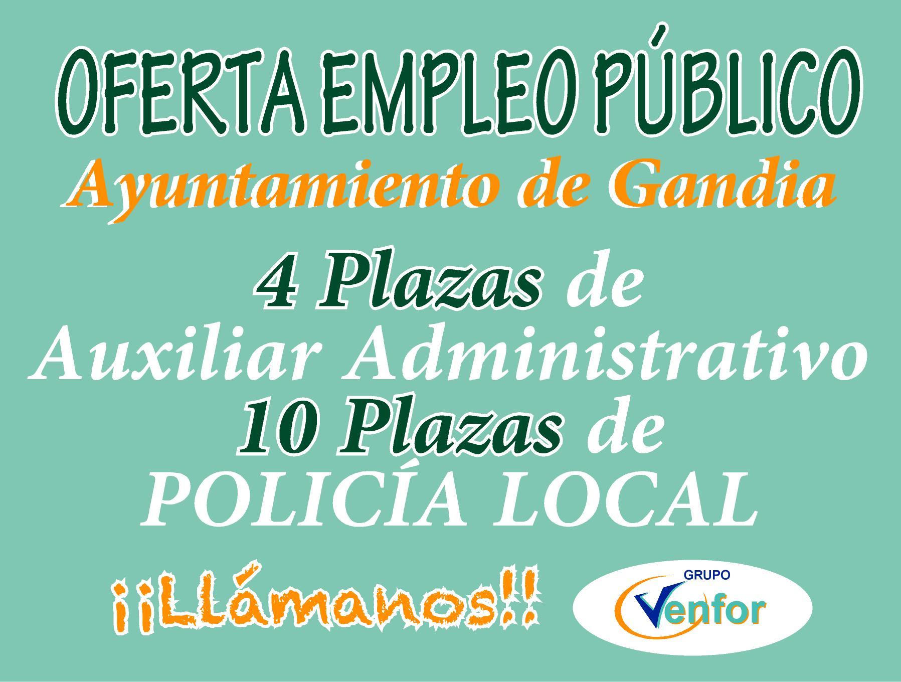 Oferta ayuntamiento de Gandia